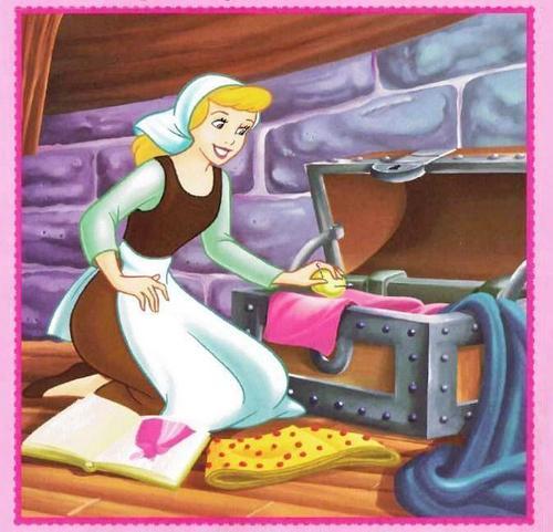 Disney Princess wolpeyper probably with anime called Sinderella