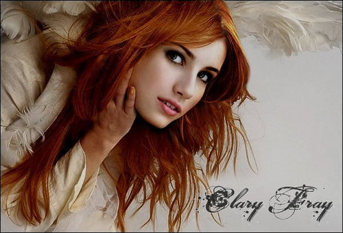 Mortal Instruments wallpaper containing a portrait titled Clary Fray