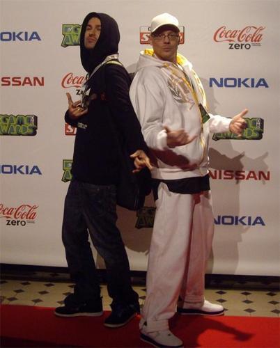 DJ Mesia & David Garrett @ mtv Game Awards 2008