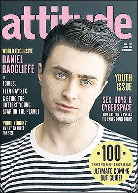 Dan on Attitude Magazine Cover