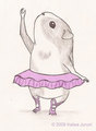 Dancing Piggie - guinea-pigs fan art