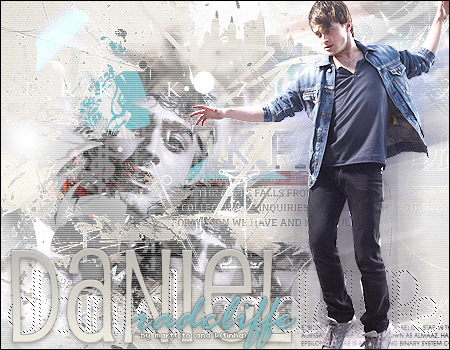 Daniel Radcliffe Layout