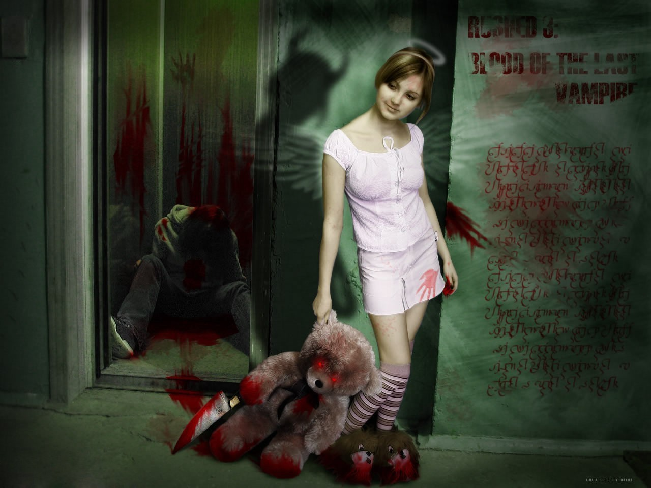 Horror movies deaddy bear