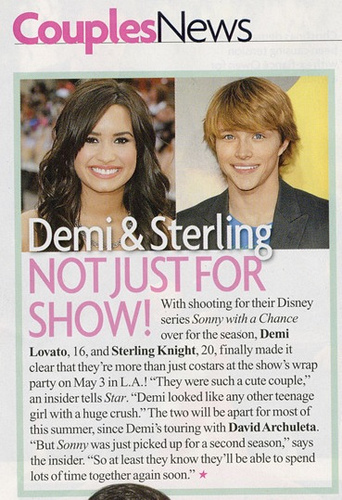Demi and Sterling