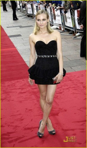 Diane @ the UK Premiere of 'Inglorious Basterds'