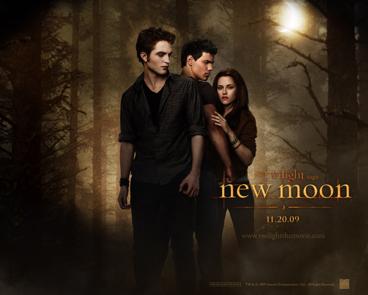 Exclusive New Moon Wallpapers Twilight Series Wallpaper