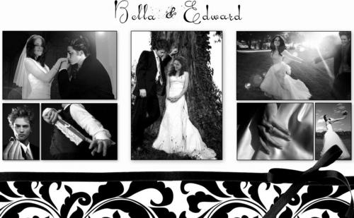 Edward & Bella in the Wedding day!