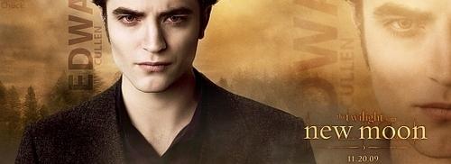 Edward Cullen New Moon Banner