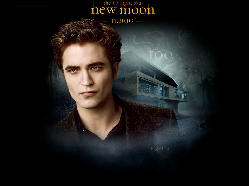Edward New Moon Twilight Series Wallpaper 7245051 Fanpop