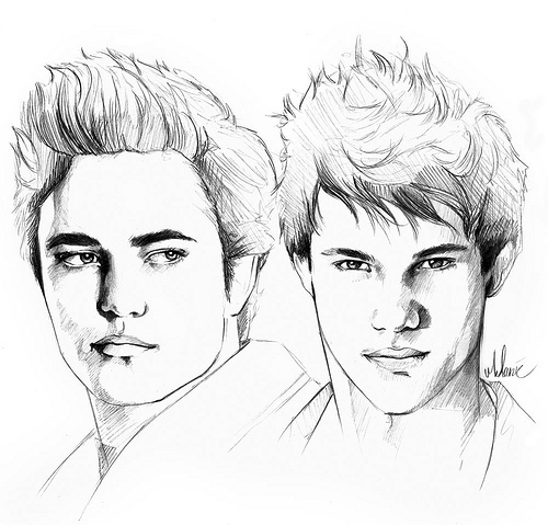 Edward and Jacob