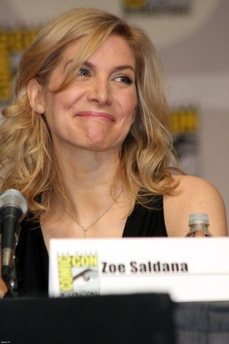 Elizabeth Mitchell at Comic Con