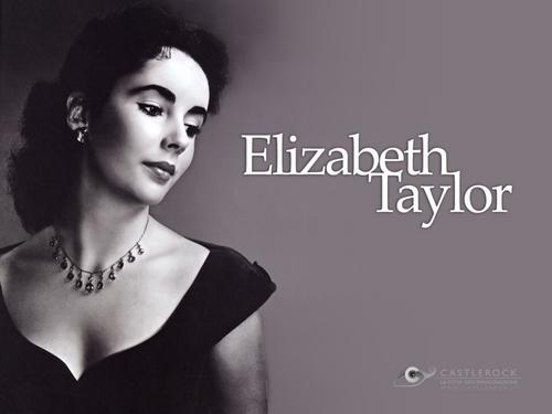 Elizabeth Taylor karatasi la kupamba ukuta
