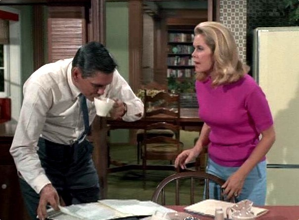 Elizabeth With Dick York (Bewitched)