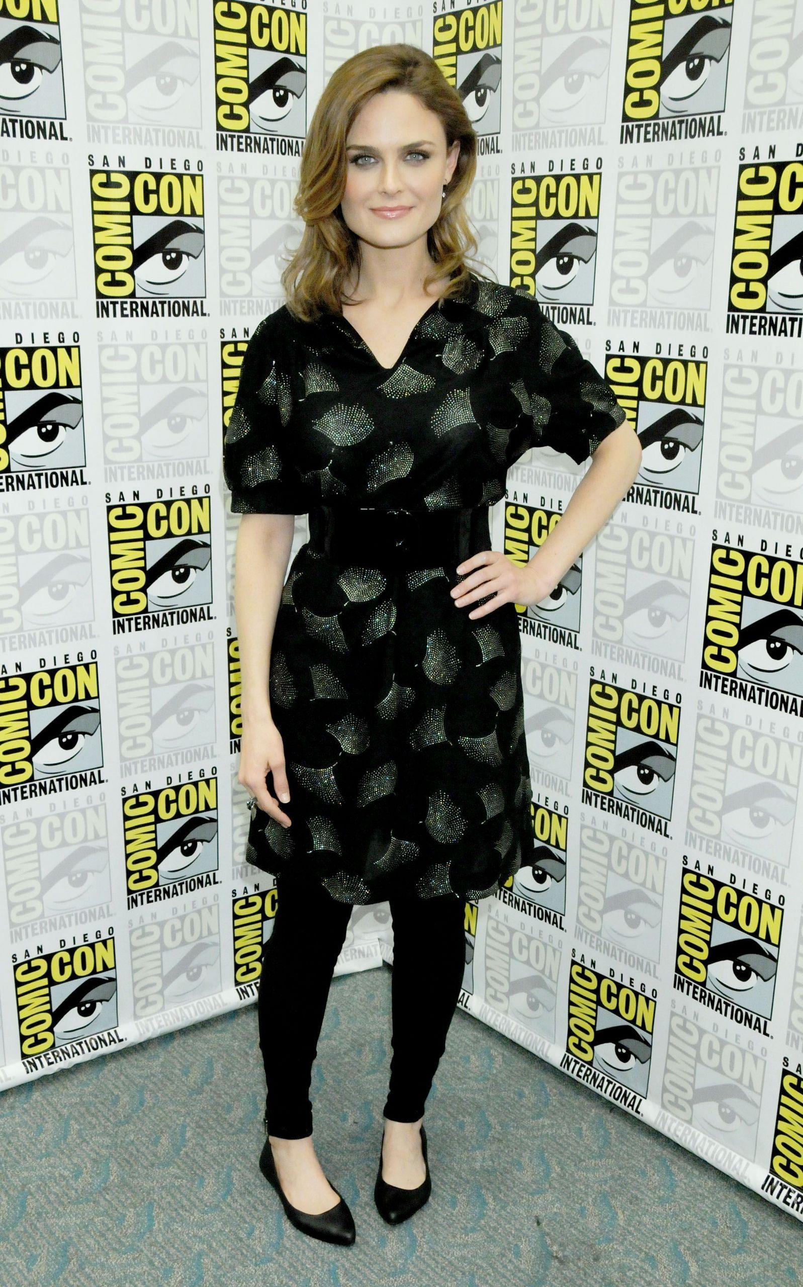 Emily Deschanel @ Comic-con 2009