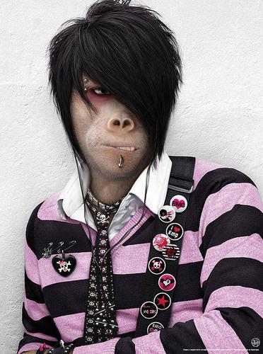 Emo Monkey