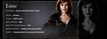 Esme Cullen Info Banner