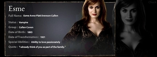 Esme Cullen images Esme's Profile Banner wallpaper and background photos