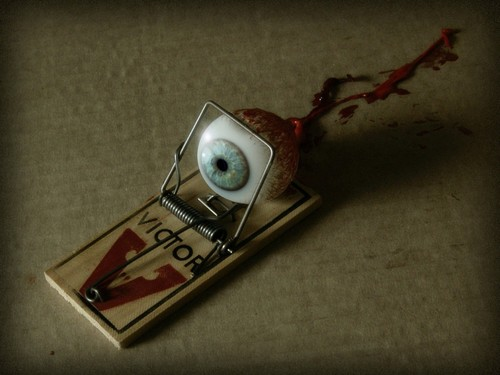 Horror Movies wallpaper titled Eye Catching