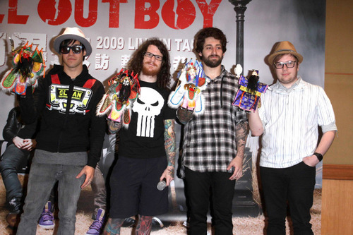 Fall Out Boy in China