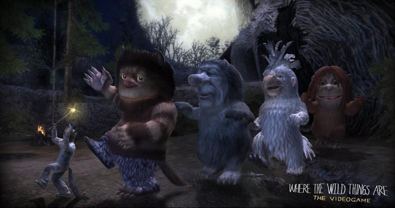 First Image of the 'Where The Wild Things Are' Video Game