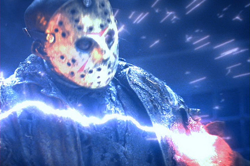 film horror wallpaper entitled Freddy Vs Jason