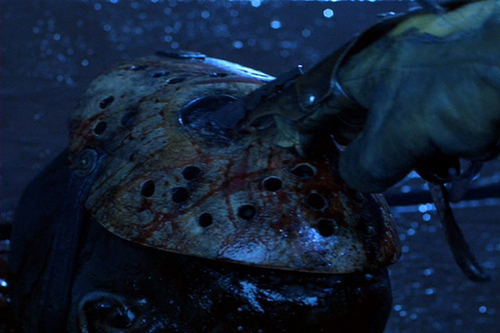 Horror films achtergrond titled Freddy Vs.Jason