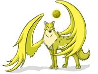 GOLDEN lobo OF THE SUN