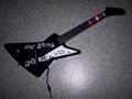 Guitare ; 1er model, déco maison !
