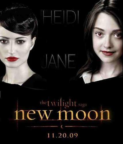 Heidi & Jane The Volturi.....