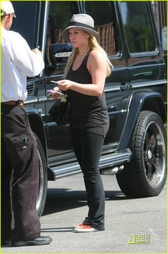 Hilary in LA