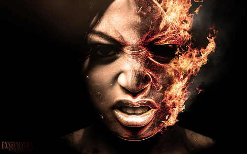 Horror Movies wallpaper entitled Hot Head