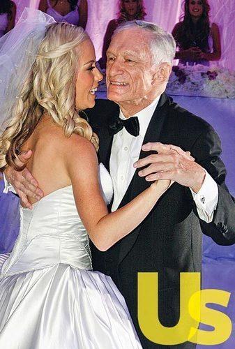 Hugh Hefner Wallpaper Called Dances With Kendra Wilkinson At Her Wedding