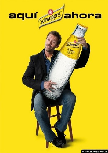 Hugh Laurie in Schweppes Commercial
