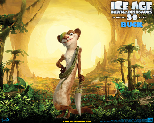 Ice Age Hintergrund possibly with Anime entitled Ice age 3 Buck Hintergrund
