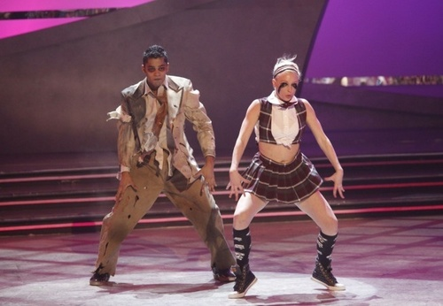 So You Think You Can Dance wallpaper with a hip boot entitled Jason and Kayla Top 8