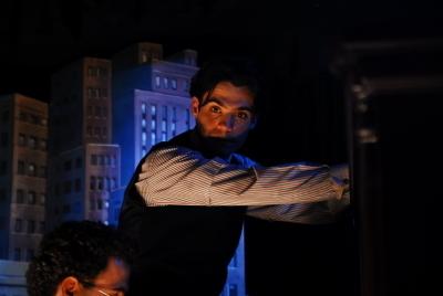 Javier as Fededrico García Lorca <3