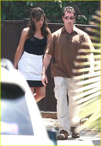 Jennifer Garner on the Set of Valentine's 日