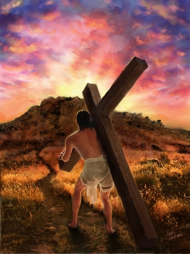 Jesus wallpaper probably containing a wind turbine and a cross called Jesus