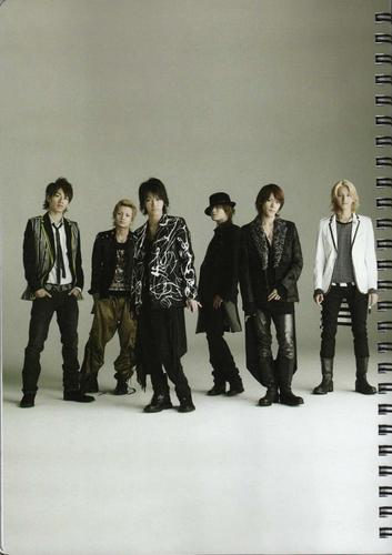 KAT-TUN Calendar 2008/2009