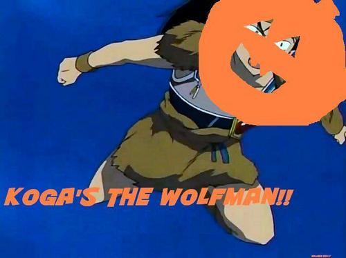 KOGA THE WOLFMAN