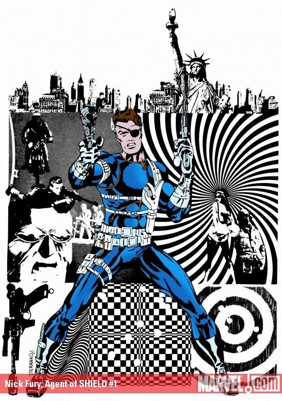 Nick Fury Agent of Shield Comics