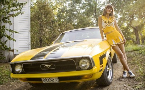 "Mary Elizabeth Winstead ""Death Proof"" Widescreen karatasi la kupamba ukuta"