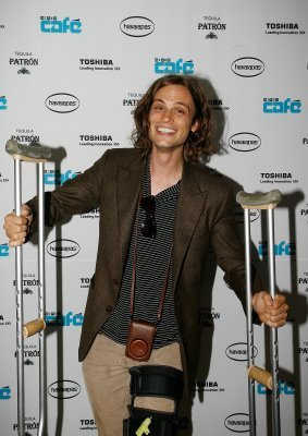 Matthew Gray Gubler@Comic Con 2009