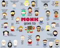 Monk South Park - monk fan art