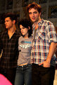 More Robsten & Lautner at Comic Con 09 - twilight-series photo