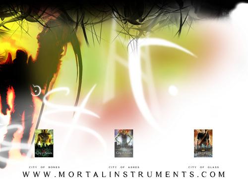 Mortal instruments ウォール paper