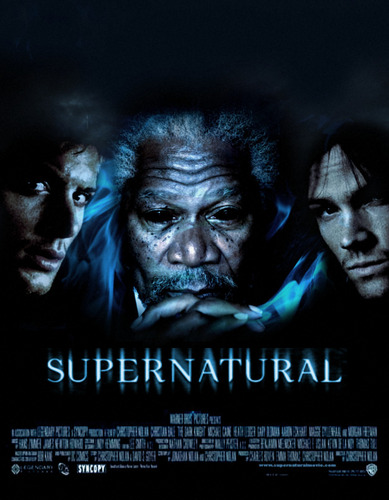 Supernatural wolpeyper entitled Movie Poster