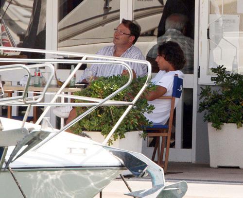 Nadal at a yacht club