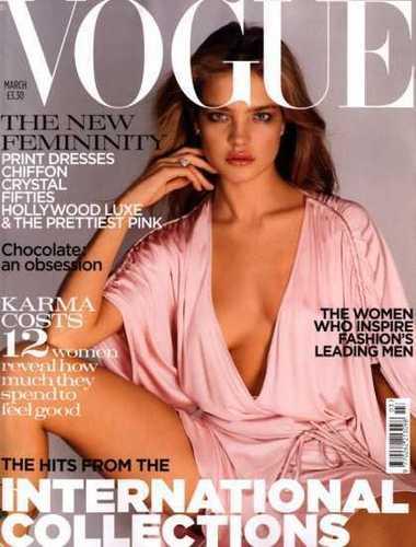 Natalia: British Vogue March 2004