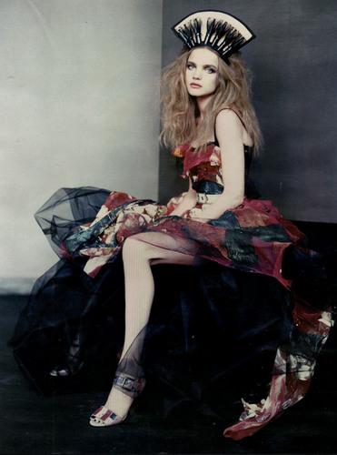 Natalia: Russian Vogue March 2008